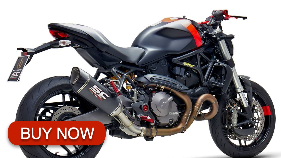 best ducati monster 821 exhaust review