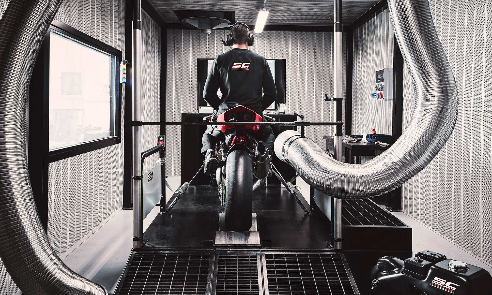 scproject dyno room exhaust