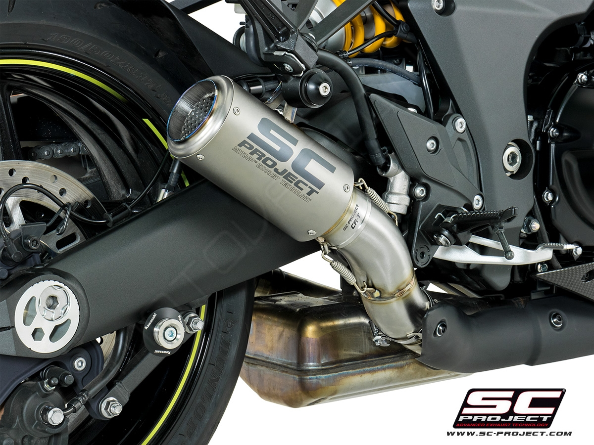 Cr T Exhaust By Sc Project Kawasaki Z1000 2018 K24 36t