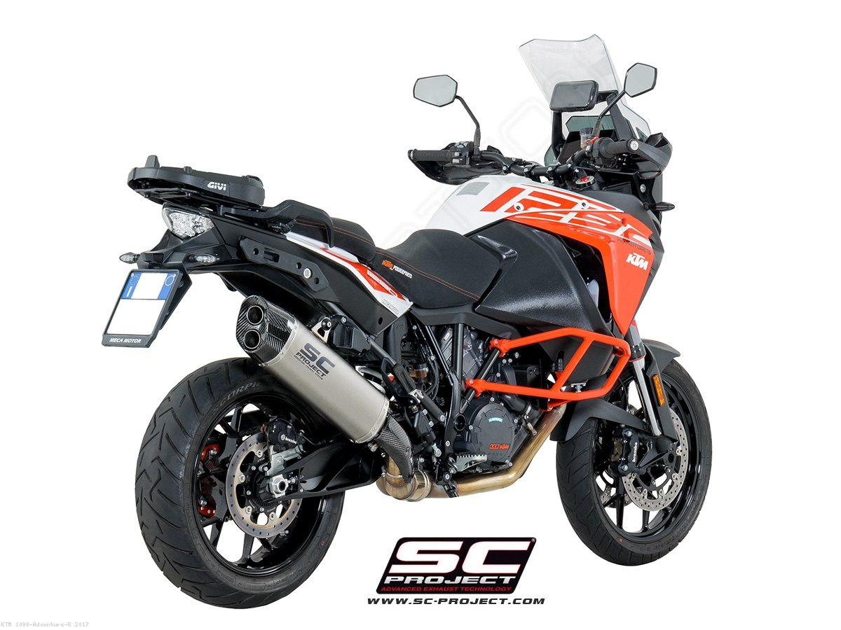 adventure exhaust by sc project ktm 1090 adventure r. Black Bedroom Furniture Sets. Home Design Ideas
