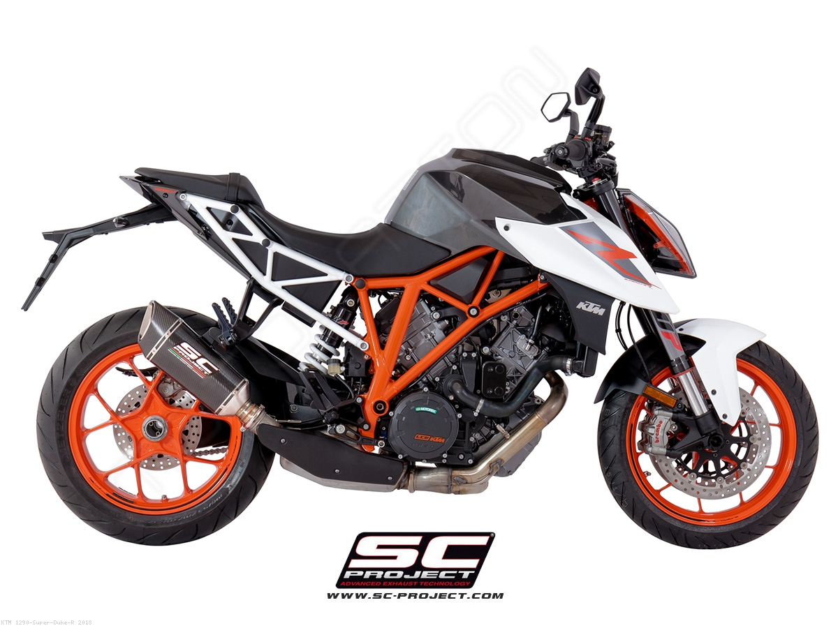 sc1 r exhaust by sc project ktm 1290 super duke r 2018 ktm10 90. Black Bedroom Furniture Sets. Home Design Ideas