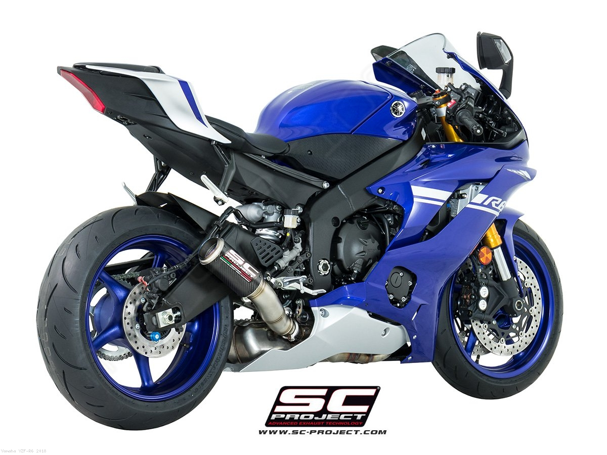 cr t high mount exhaust by sc project yamaha yzf r6. Black Bedroom Furniture Sets. Home Design Ideas
