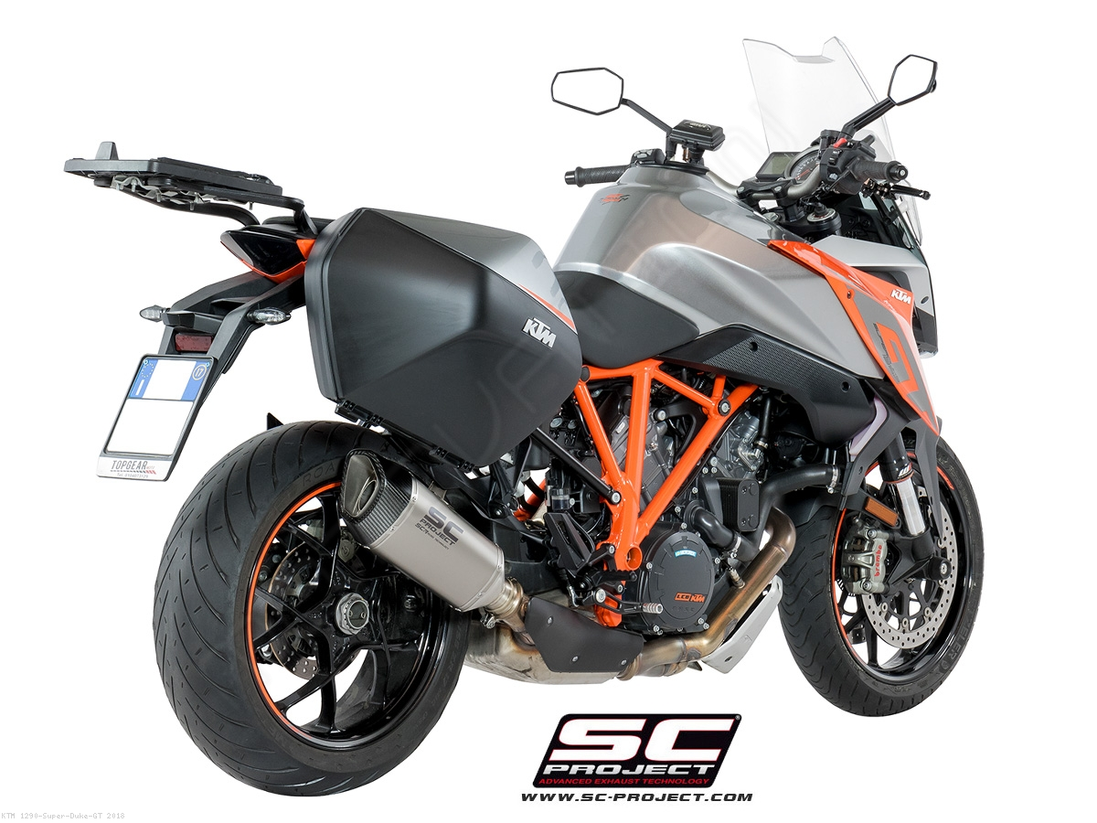 sc1 r exhaust by sc project ktm 1290 super duke gt. Black Bedroom Furniture Sets. Home Design Ideas