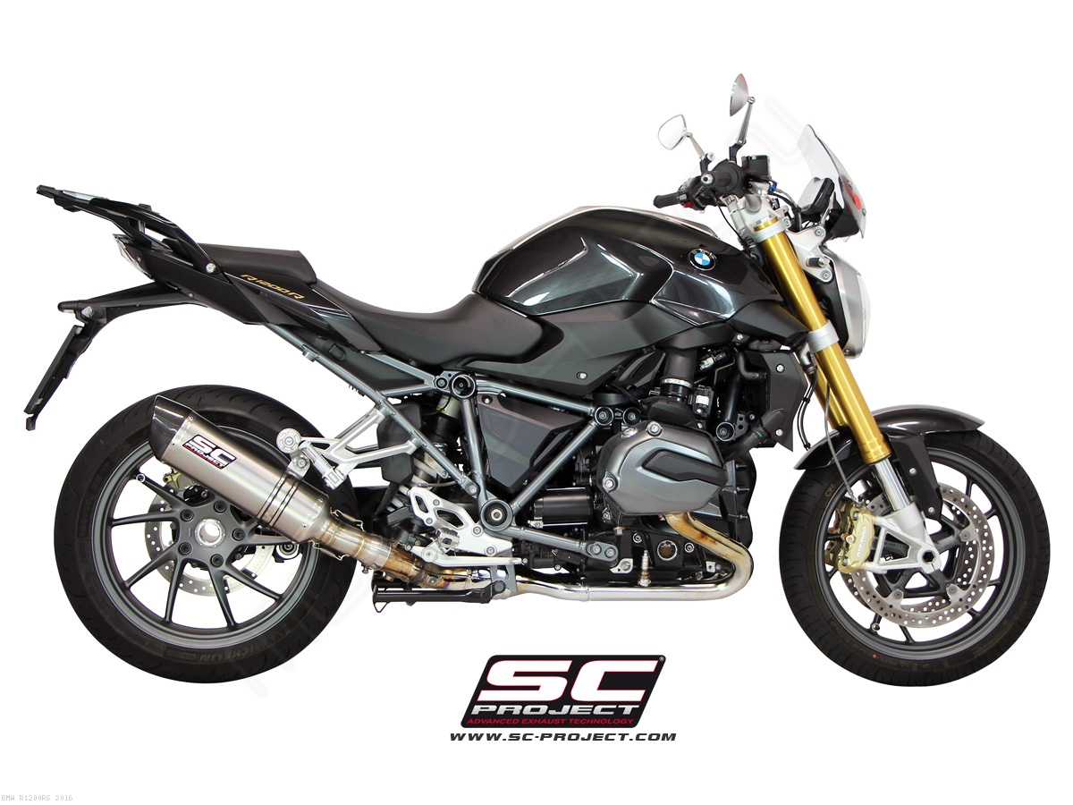 Oval Exhaust By Sc Project Bmw R1200rs 2016