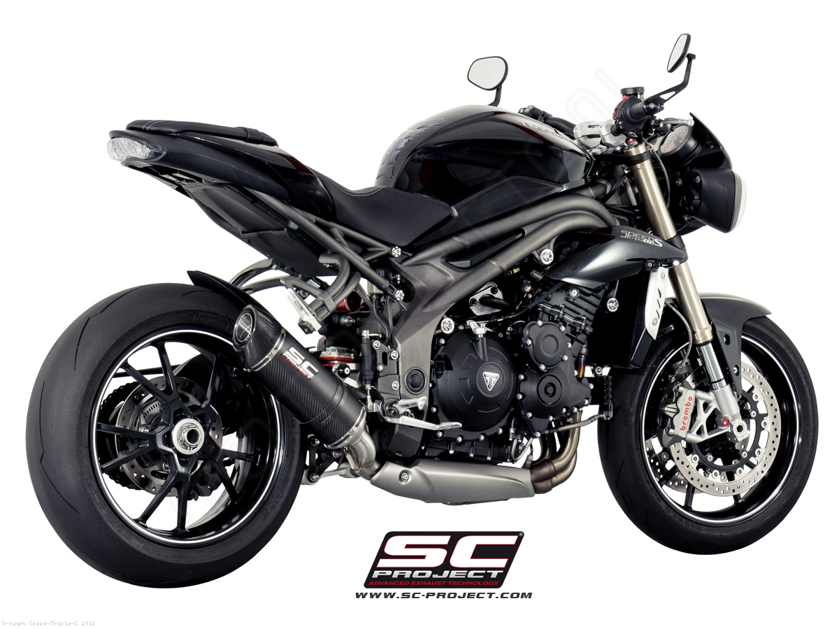 oval low mount exhaust by sc project triumph speed triple s 2018 t16 l12. Black Bedroom Furniture Sets. Home Design Ideas