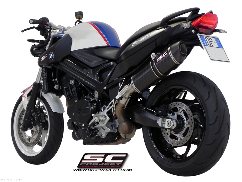 Oval Exhaust By SC Project BMW F800R 2010