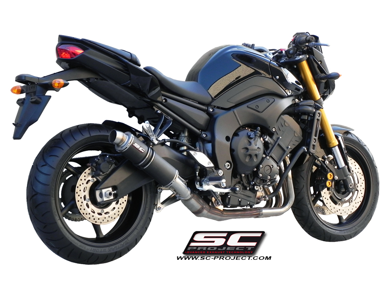 yamaha fz8 gp exhaust by sc project. Black Bedroom Furniture Sets. Home Design Ideas