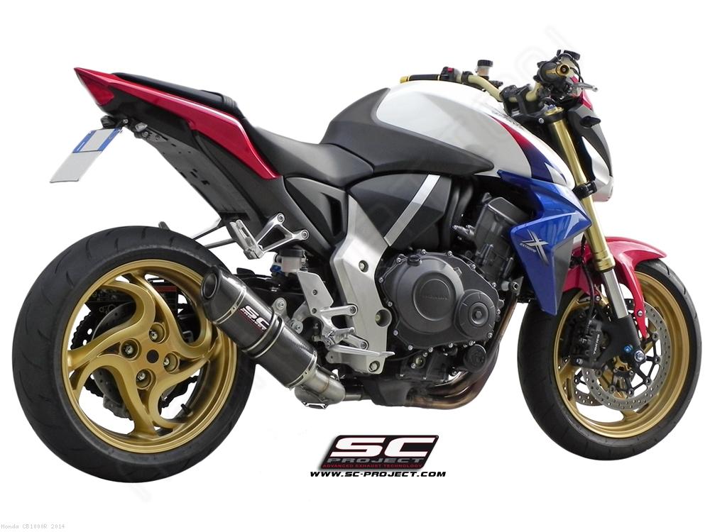 Oval De Cat Exhaust By SC Project Honda CB1000R 2014