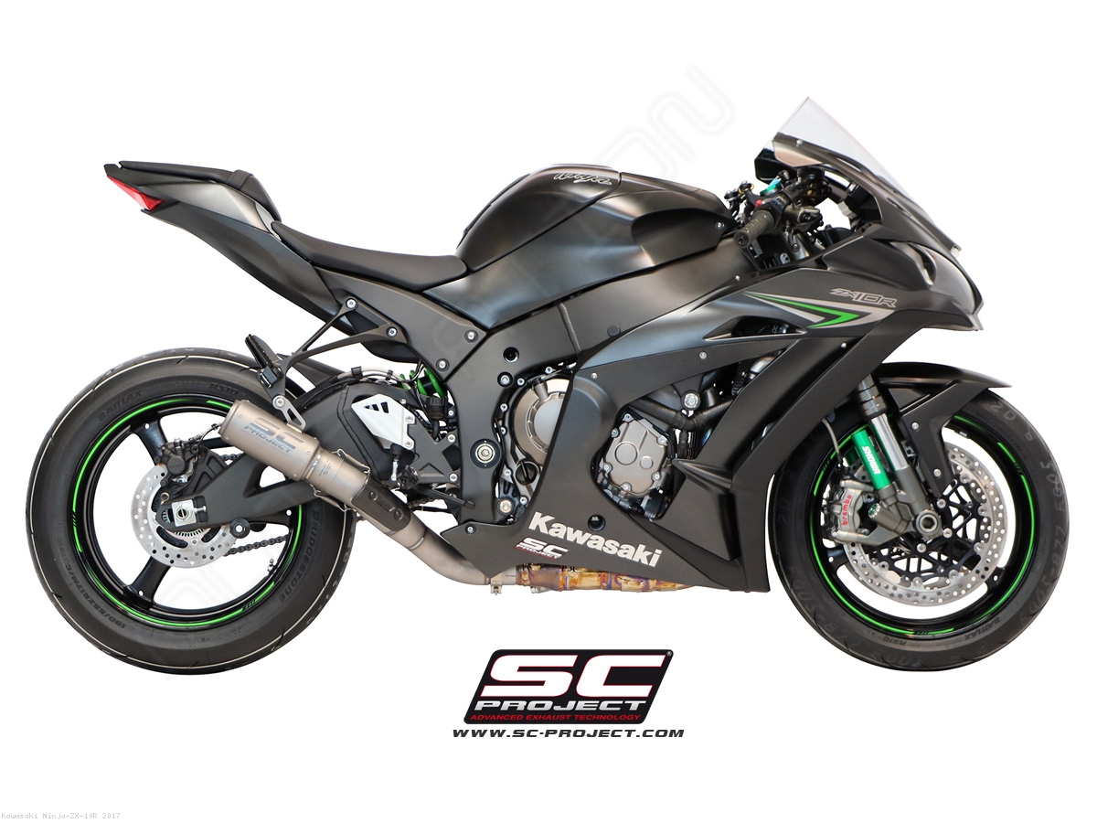 cr t exhaust by sc project kawasaki ninja zx 10r 2017 k22 36. Black Bedroom Furniture Sets. Home Design Ideas