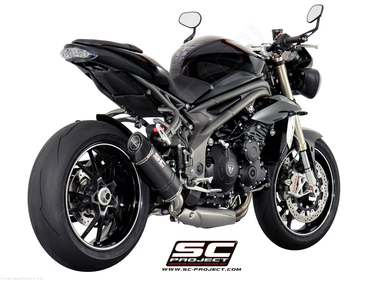 oval low mount exhaust by sc project triumph speed triple r 2018 t16 l12. Black Bedroom Furniture Sets. Home Design Ideas