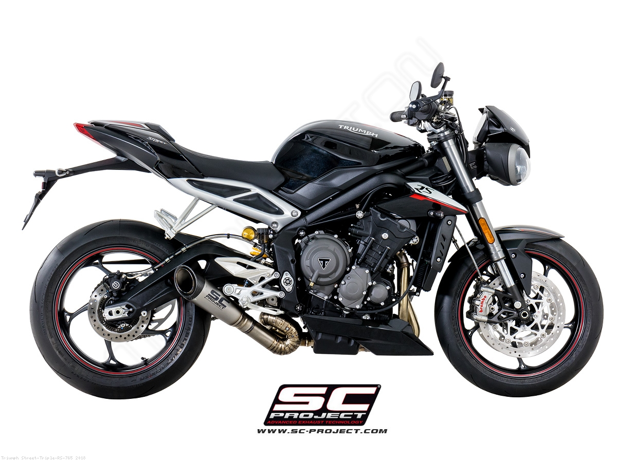 s1 exhaust by sc project triumph street triple rs 765. Black Bedroom Furniture Sets. Home Design Ideas