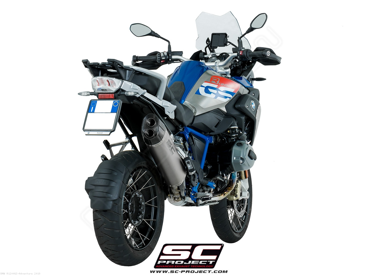 Adventure Exhaust By Sc Project Bmw R1200gs Adventure 2018 B26