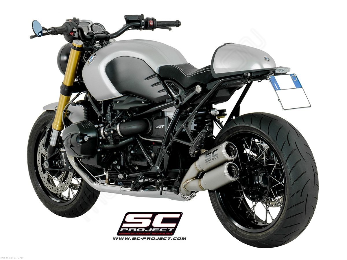 dual cr t exhaust by sc project bmw r ninet 2018 b18. Black Bedroom Furniture Sets. Home Design Ideas