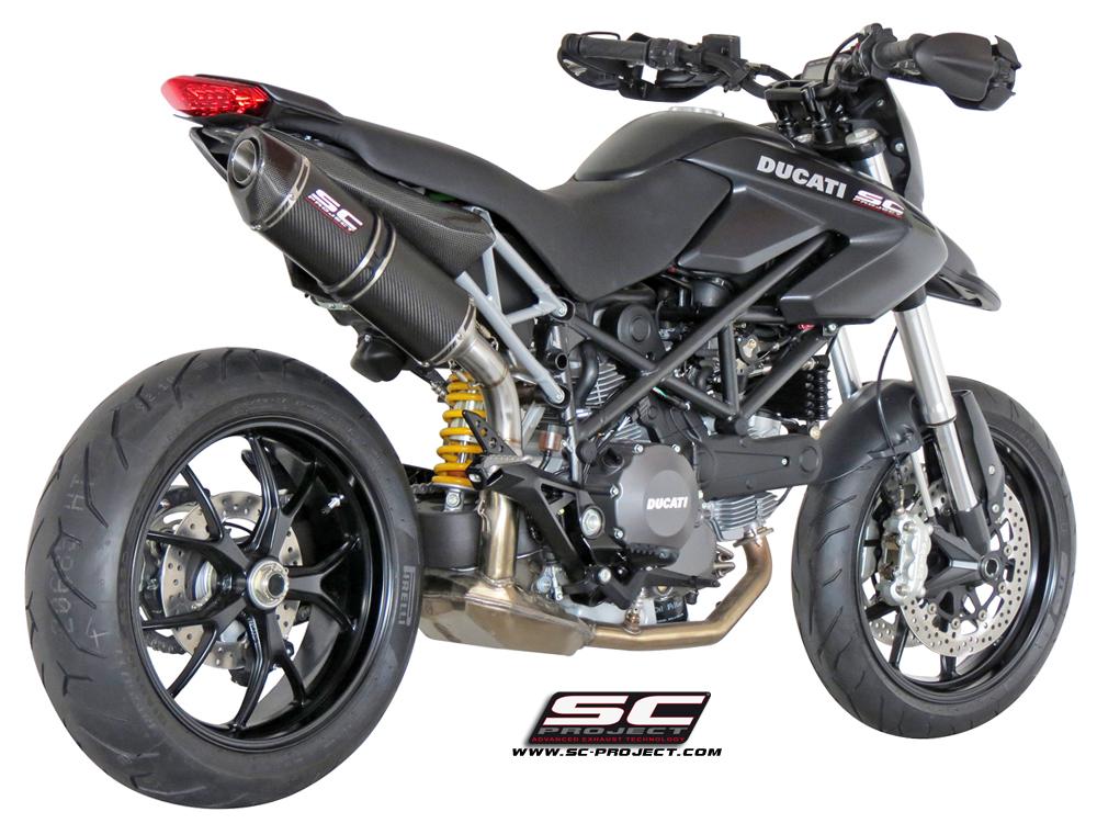 Ducati Hypermotard Doppio Scarico