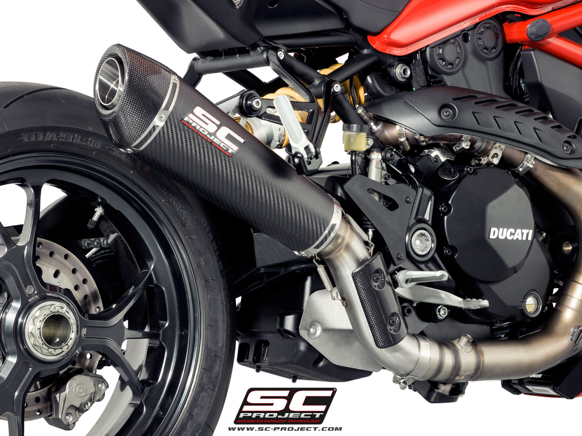 Conic Exhaust By Sc Project Ducati Monster 1200r 2016