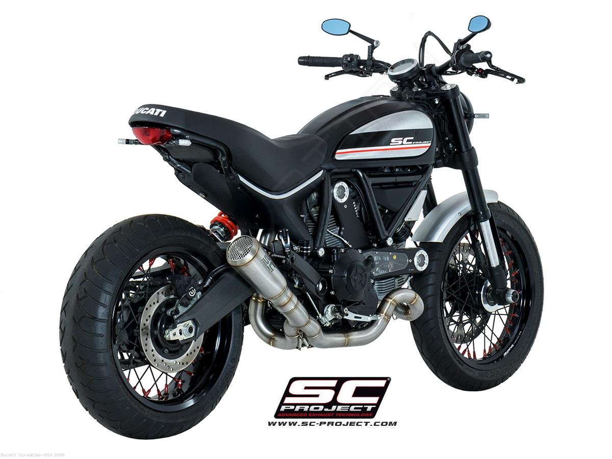 Ducati  Sc Project Exhaust