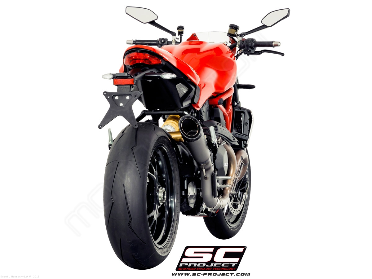 s1 exhaustsc-project ducati / monster 1200r / 2016 (d18-t41t)