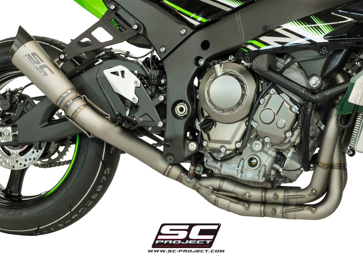 Sc Project Full System Z900 S1 Exhaust By SC Project