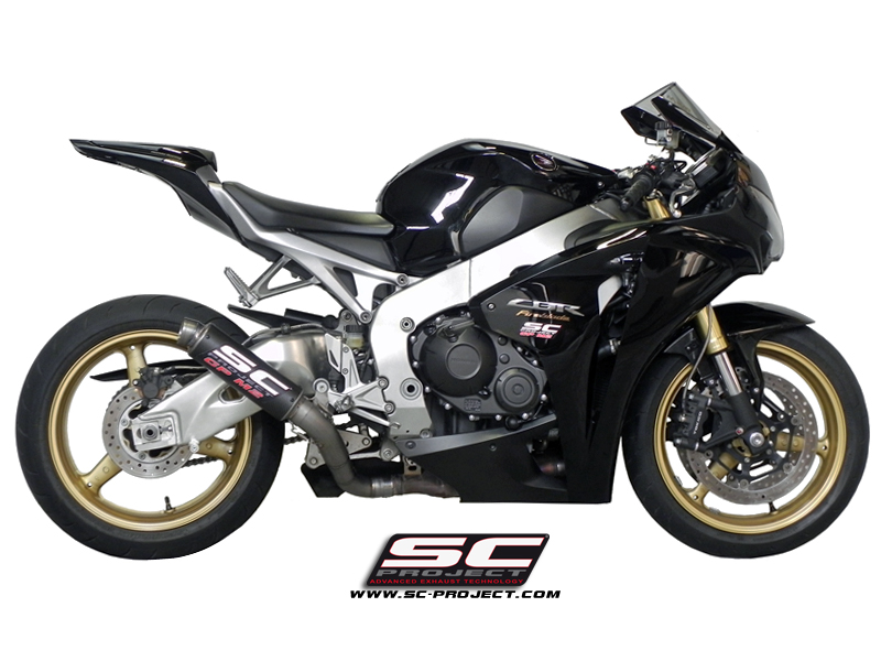 Honda Cbr1000rr Gpm2 Slip On Exhaust By Sc Project 2008 2013