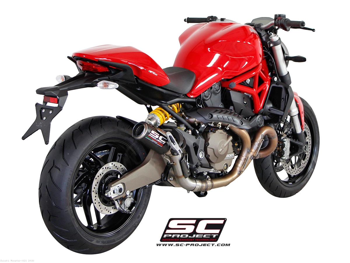 Cr T Exhaust By Sc Project Ducati Monster 821 2016