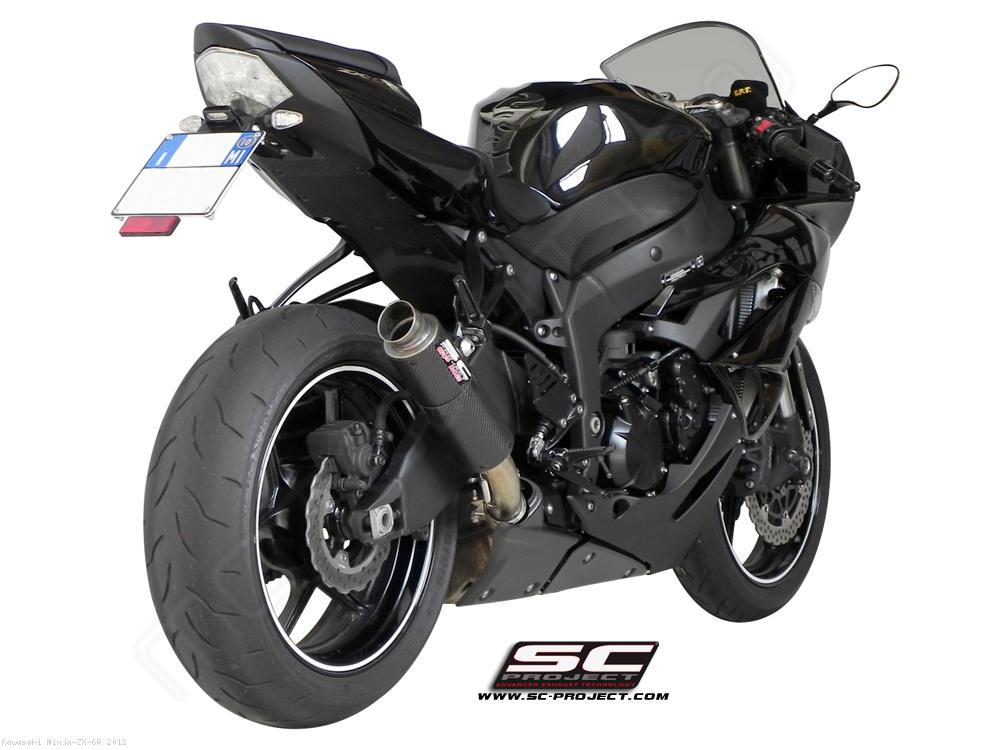 GP M2 Exhaust by SC-Project Kawasaki / Ninja ZX-6R / 2012 (K08-18C)