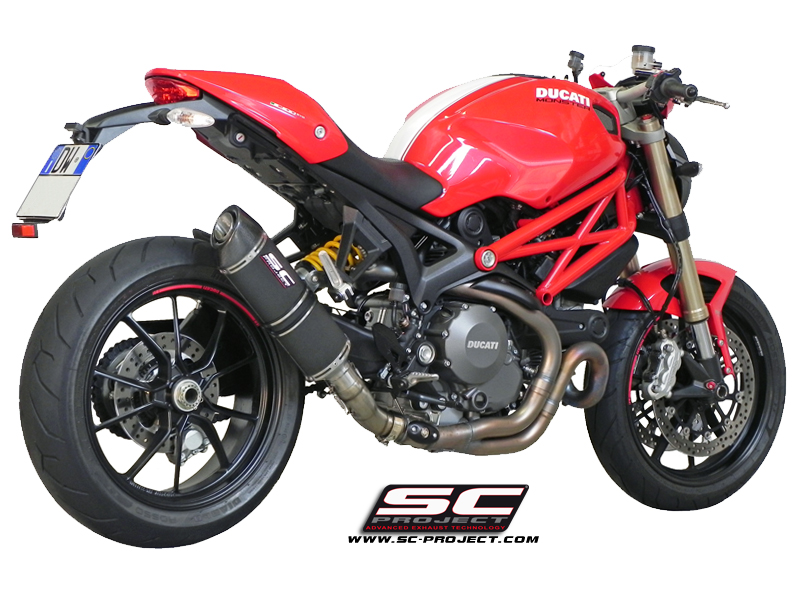 Exhaust Systems For Ducati Monster  Evo