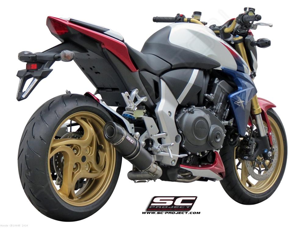 GP Tech De Cat Exhaust By SC Project Honda CB1000R 2014