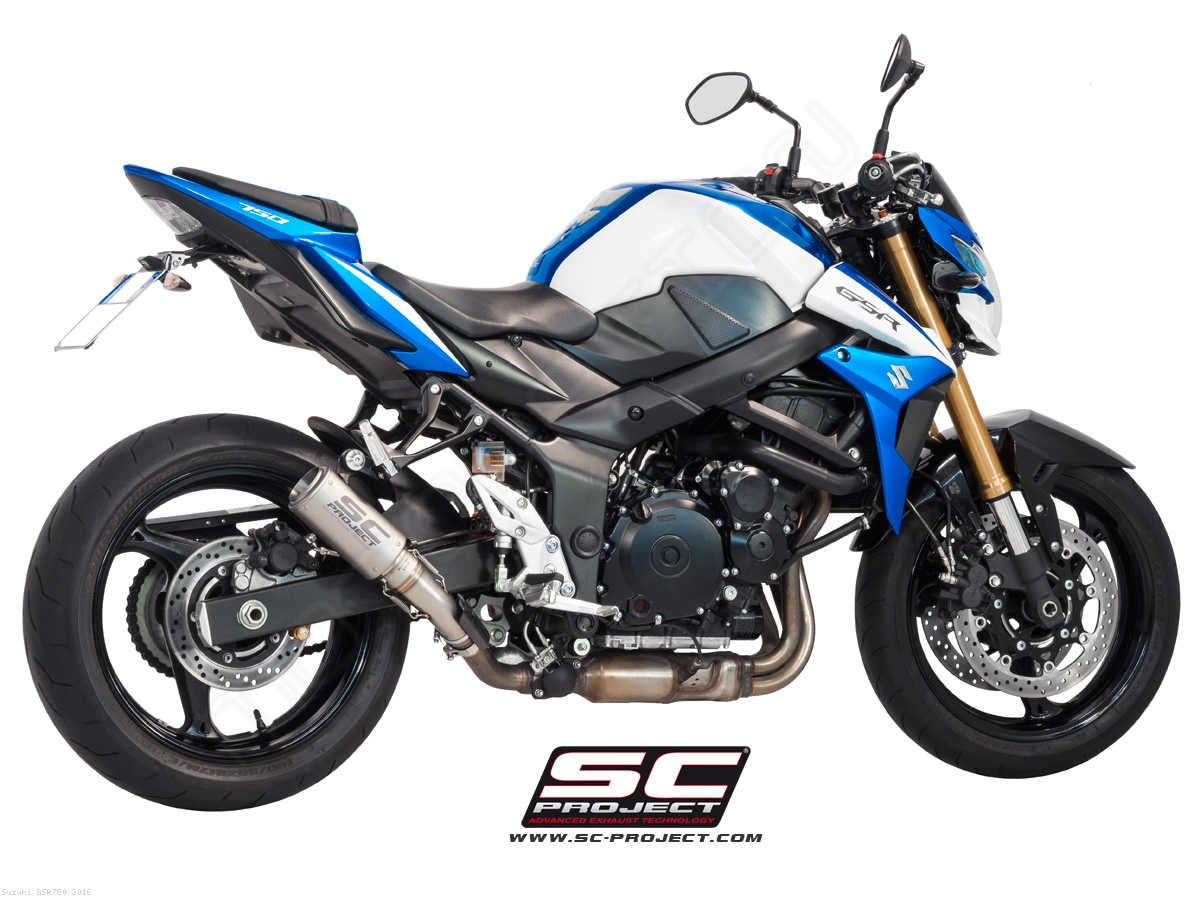 CR-T Exhaust by SC-Project Suzuki / GSR750 / 2016 (S07-36T)