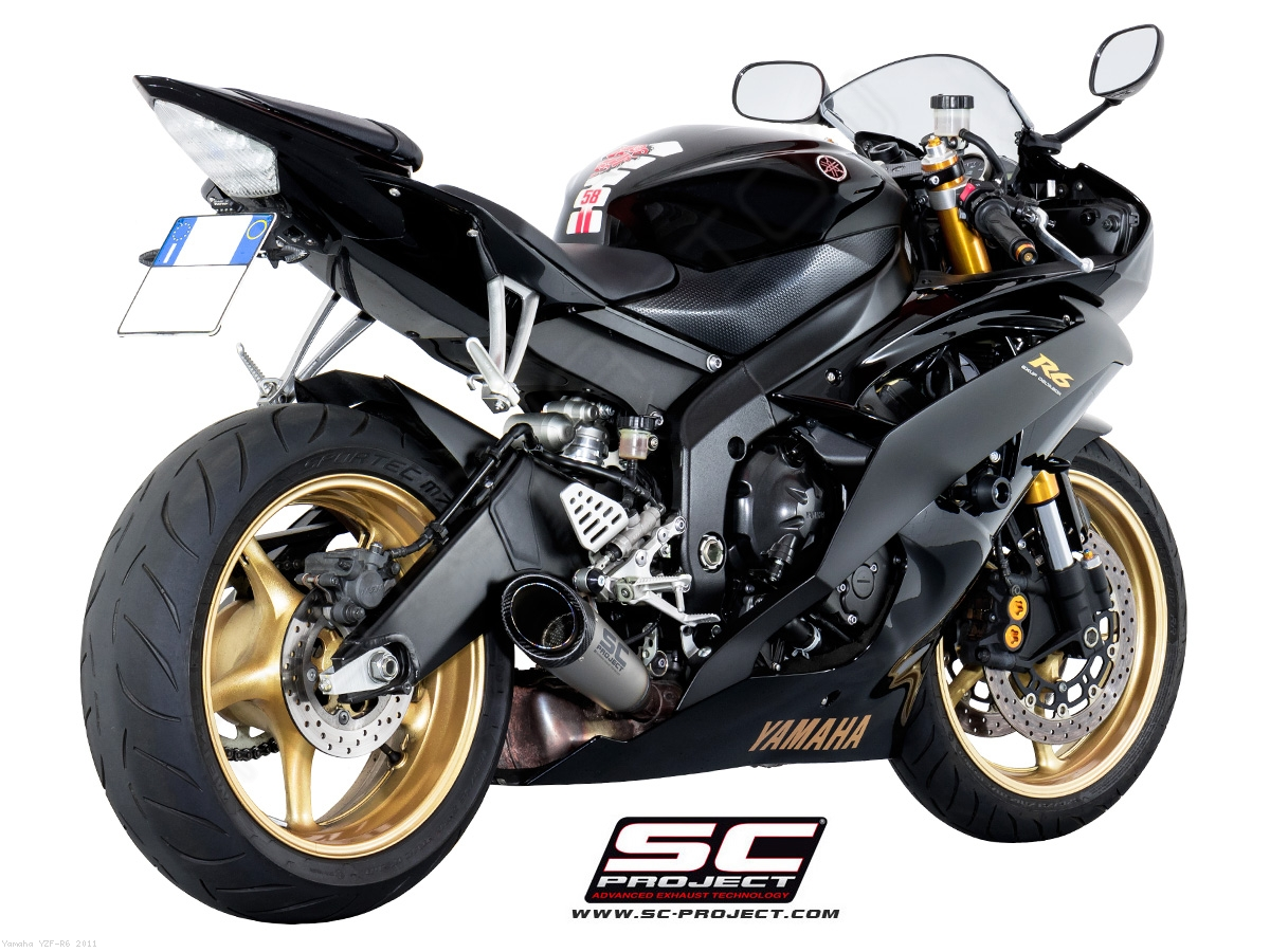 s1 low mount exhaust by sc project yamaha yzf r6 2011 y04 lt41t. Black Bedroom Furniture Sets. Home Design Ideas