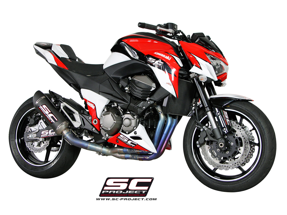 Kawasaki Z800 Oval Racing 4 2 1 Full System Exhaust By Sc