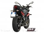 Conic Exhaust by SC-Project Triumph / Street Triple / 2013