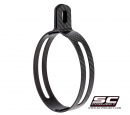 Carbon Exhaust Clamp for SC-Project Oval Exhausts