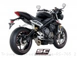 S1 Exhaust by SC-Project Triumph / Street Triple RS 765 / 2019