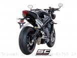 S1 Exhaust by SC-Project Triumph / Street Triple R 765 / 2018