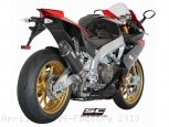 Oval Exhaust by SC-Project Aprilia / RSV4 Factory / 2013