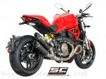 Dual GP-Tech Exhaust by SC-Project Ducati / Monster 1200S / 2015