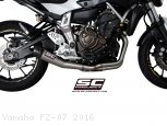 Conic Exhaust by SC-Project Yamaha / FZ-07 / 2016