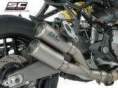 CR-T Exhaust by SC-Project Ducati / Monster 1200R / 2018