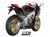 Race Oval Exhaust by SC-Project Aprilia / RSV4 Factory / 2013