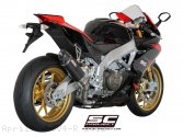 Race Oval Exhaust by SC-Project Aprilia / RSV4 R / 2012