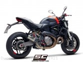CR-T Exhaust by SC-Project Ducati / Monster 821 / 2021