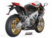 Oval Exhaust by SC-Project Aprilia / RSV4 / 2009