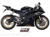 CR-T Exhaust by SC-Project Yamaha / YZF-R6 / 2019