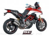 CR-T Exhaust by SC-Project Ducati / Multistrada 1260 / 2020