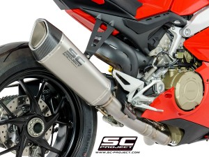 High Mount Titanium SC1-R Exhaust by SC-Project