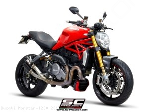 CR-T Exhaust by SC-Project Ducati / Monster 1200 / 2017