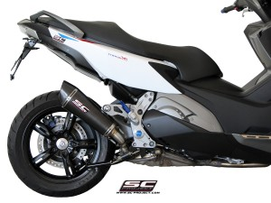 Conic Matte Carbon Exhaust by SC-Project