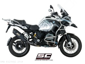 """Adventure"" Exhaust by SC-Project BMW / R1200GS / 2014"