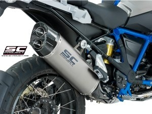 """Adventure"" Exhaust by SC-Project BMW / R1200GS / 2017"