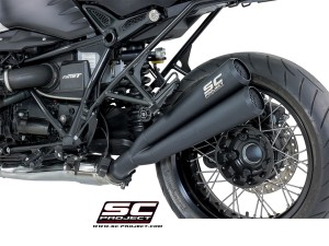 "Black Edition Dual Conic ""70s Style"" Exhaust by SC-Project"